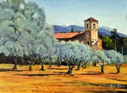 Eglise de Lourmarin.