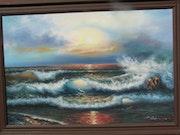 Colourful seascape. Bert Veenema