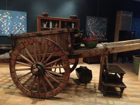 Chariot. Antiquité Chinoise Ahlam Heddoun