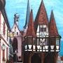 Rathaus zu Michelstadt. Simone Wilhelms