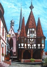 Rathaus zu Michelstadt.