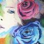 La dame aux roses. Françoise Deléglise
