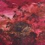 La forêt de Bornéo / Huile sur toile / 80 X 100 cm. Danielle Aimée