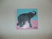 Mon elephant.