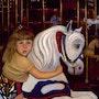 Pony girl whispering secrets. Sallyartist