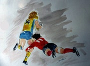 Portrait de joueur de rugby appartenant au club France. Sergio
