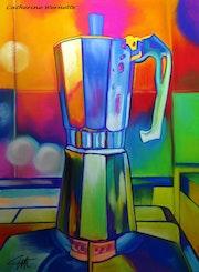 La cafetiere. Catherine Wernette