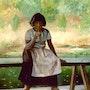 Early american girl. Sallyartist