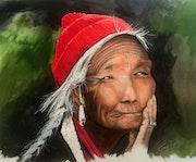 Tibétaine.