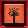 Titre de l'œuvre d'art : couché rouge. Jonathan Pradillon