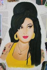 Amy, la légende (gros plan).
