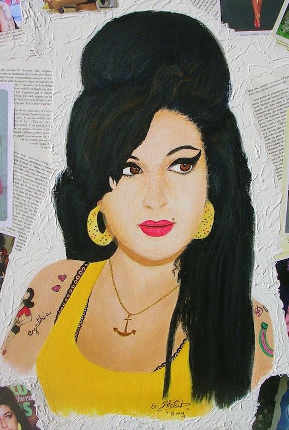 Amy, la légende (gros plan). Ghislaine Phelut- Sanchez Ghislaine Phelut
