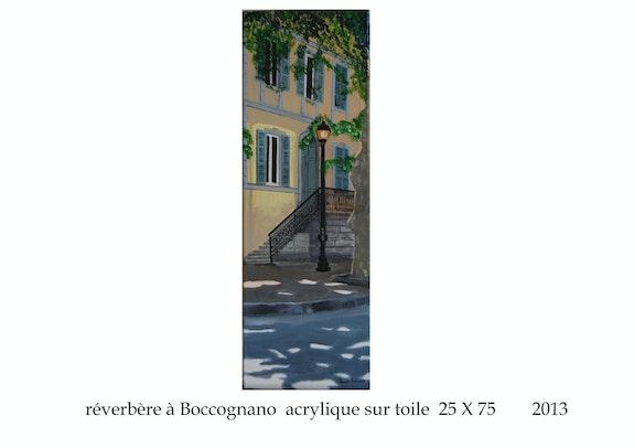 Réverbère à Boccognano en Corse. Cesar Luciano Cesar Luciano