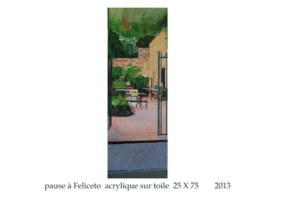 Pause à Feliceto en Haute Corse. Cesar Luciano Cesar Luciano