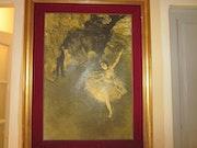Tableau signé Degas 1878. Kawtar Flali