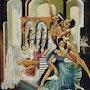 La gitane et son ballet. Marès