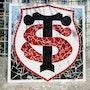 Logo Stade Toulousain. Maryline Van Poucke
