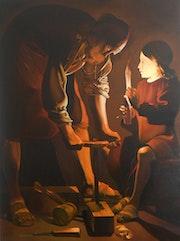 Peintre copiste et createur. Daniel Moncla