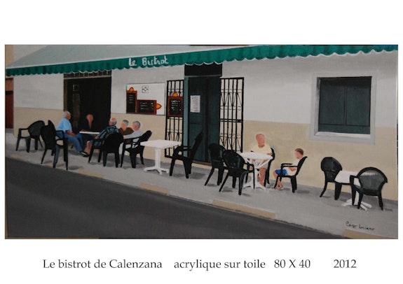 Le bistrot de Calenzana en haute Corse. Cesar Luciano Cesar Luciano