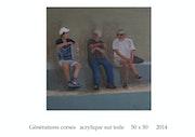 Pause à PiGNA ou trois générations en Corse.