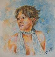 Portrait «ma femme».