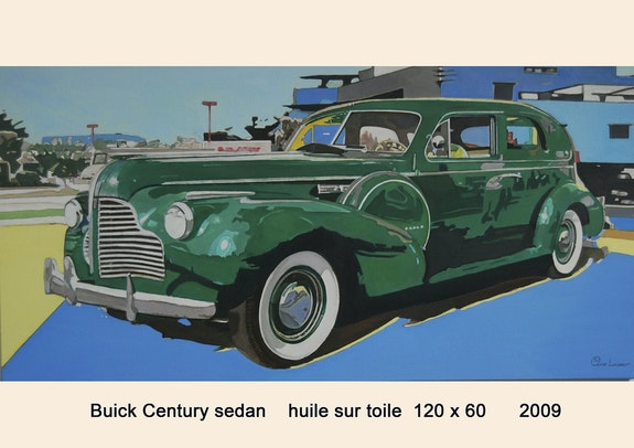 Buick century sedan à Miami. Cesar Luciano Pierre Giafferi Alias Cesar Luciano