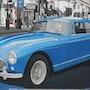 Aston Martin à l'opéra. Cesar Luciano