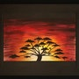 Titel des Kunstwerks: Sun afrika. Jonathan Pradillon