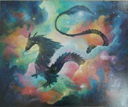 La constellation du Dragon.