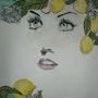 Lemon color. Anne. B