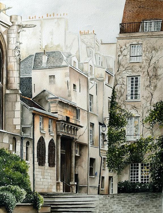 Rue des Barres - Paris 4. Houmeau