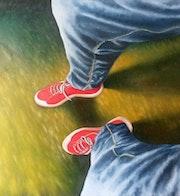 Las zapatillas.
