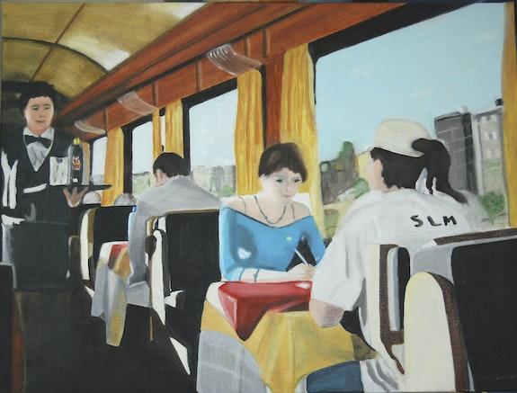 Dans le train. Cesar Luciano Cesar Luciano