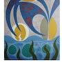 L'oeuf cosmique (1987) (première période). Obéline Flamand