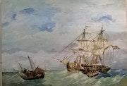 Marine du XVIIè.