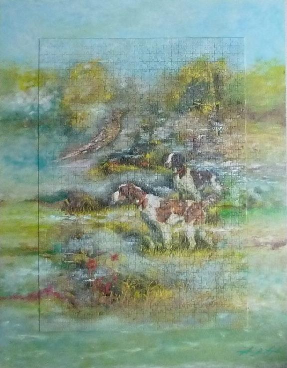 Un jour de chasse en Sologne…. Andrea De Ayala Ayala Andre
