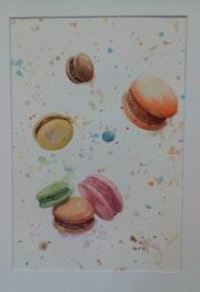 Douces gourmandises (macarons).