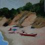 La plage de Galéria. Cesar Luciano