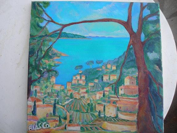 Paysage méditerrannéen vers Bandol. Jacques Blasco Jacques Blasco