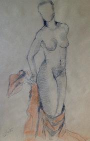 Corinna - Aktstudie weiblich.