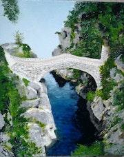 Le pont du diable en Ardèche.