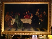 Big Picture The Last Supper Oil With frame.