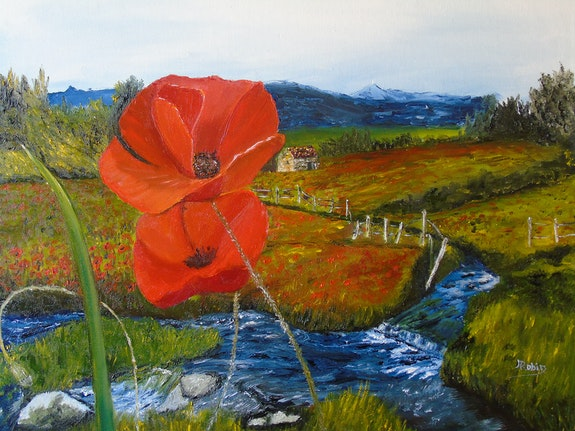 Coquelicots. Marie Robin Marie Robin