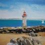 Villes Martin's Lighthouse. Miguen
