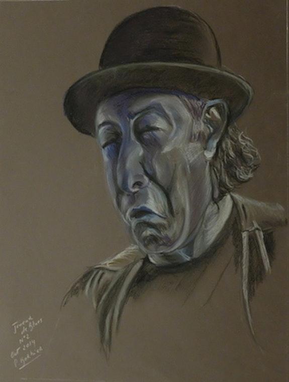 Joueur de blues n°2. Paul Barbier Paul Barbier