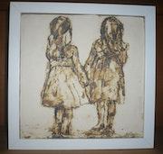 Girl walking (Keramiek). Kristin Van Tuyne