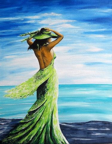 Face à la mer…. Lolo