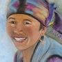 Sourire du Népal. Joelle Bouriel