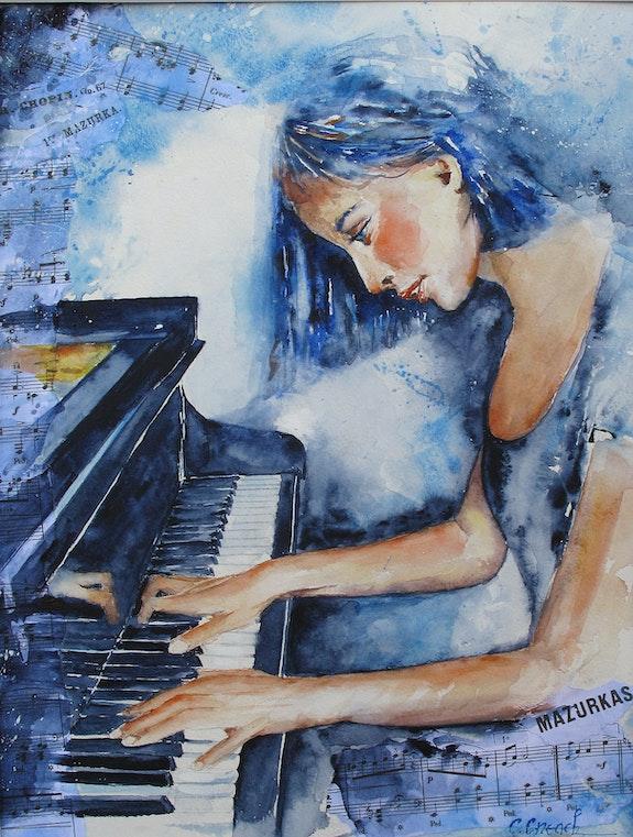 Piano passion. Claude Creach Claude Creach