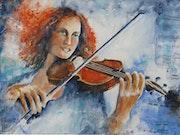 Violoniste Rousse.